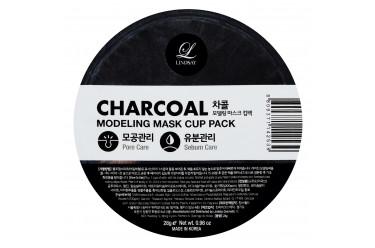 Charcoal Modeling Mask Cup Pack Альгінатні маски для домашнього використання