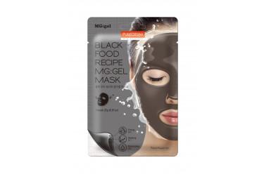 Purederm Black Food Recipe MG: gel Mask Гідрогелеві маски