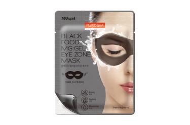 Purederm Black Food MG: Eye Zone Mask Гідрогелеві маски